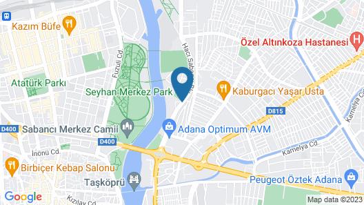 Sheraton Grand Adana Map