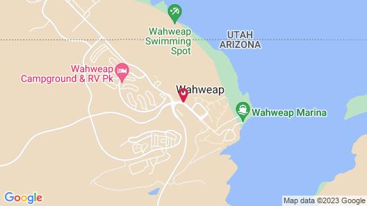 Lake Powell Resort Map