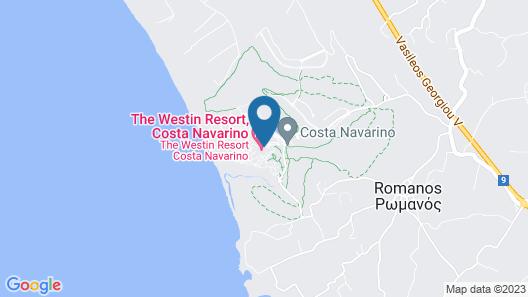 The Westin Resort, Costa Navarino Map