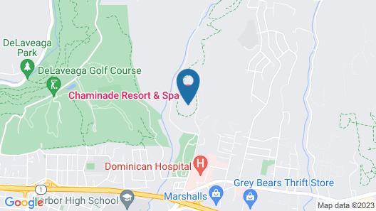 Chaminade Resort & Spa Map