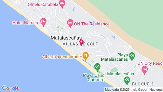 Playa Golf Map