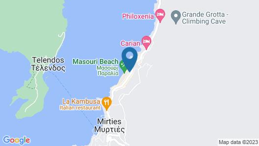 MasouriBlu Hotel Map