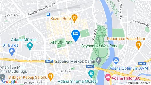 Golden Deluxe Hotel Map