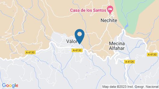 Balcón de Válor - Centro de Turismo Rural - Apartment Map