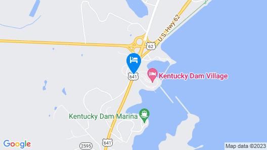 Kentucky Dam Village State Resort Park Map