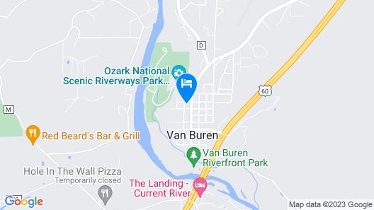 Current River Inn Map