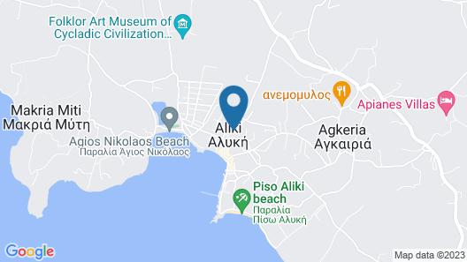 Aliki Panorama Rooms Map