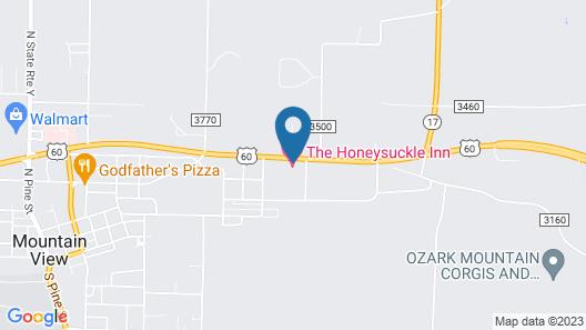 Honeysuckle Inn - Mountain View Map