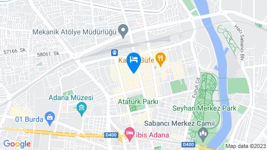 DoubleTree by Hilton Adana Map