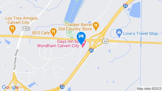 Quality Inn Calvert City - Paducah East Map