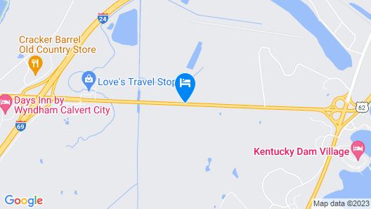 Kentucky Lake Inn Map