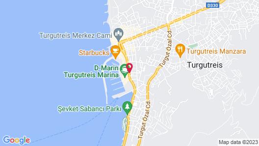 Marin-A Hotel Map