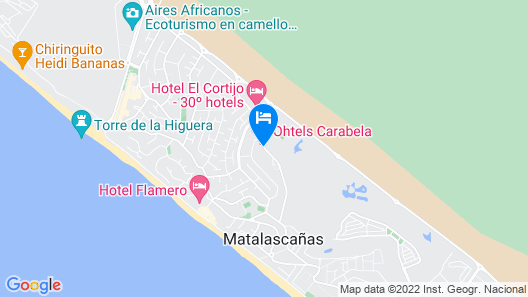 Ohtels Carabela Beach & Golf Map