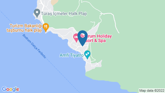 TUI MAGIC LIFE BODRUM - All Inclusive  Map