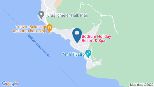 Bodrum Holiday Resort&spa Map