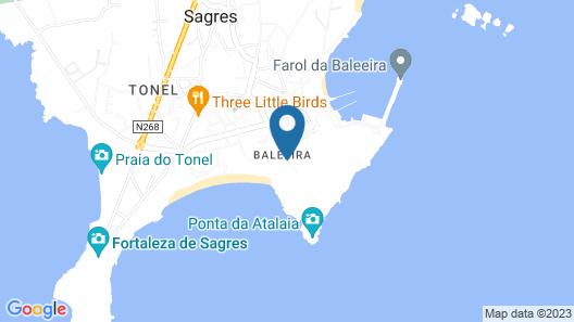 Pousada de Sagres - Charming Hotel Map