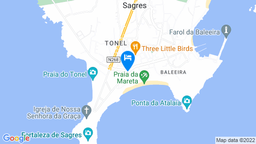 Mareta Beach Boutique Bed & Breakfast Map