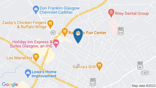 Towne Inn Map