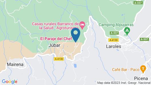 El Paraje del Chef Map