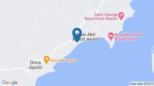 Amaryllis Beach Hotel Map