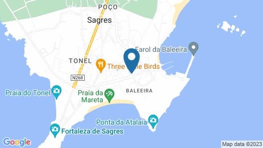 Casa Azul Sagres - Rooms & Apartments Map