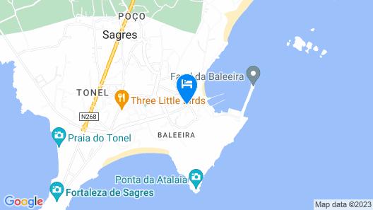 Memmo Baleeira Hotel Map