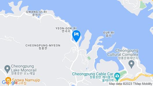 Jecheon de Tours Camp Club Map
