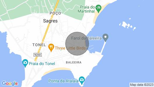 Large House Near Beach Map