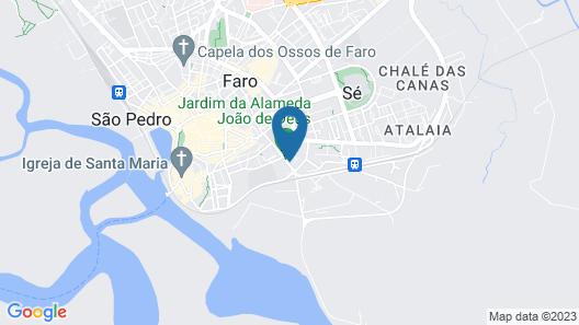 HI Faro- Pousada de Juventude Map