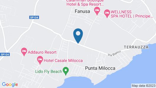Villa Fanusa Map