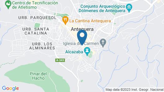 Hotel Manzanito Map