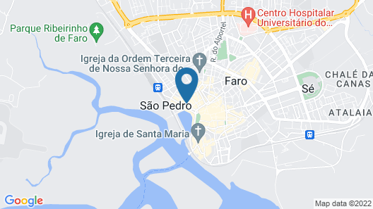 Well'Come to Algarve Hostel  Map