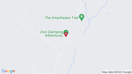 Zion Glamping Adventures Map