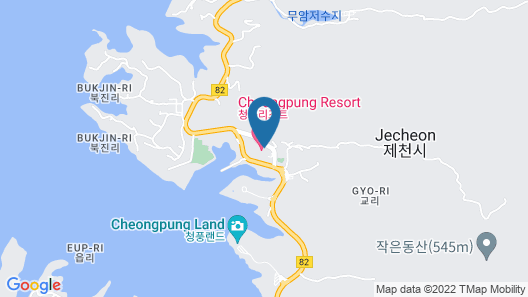 Cheongpung Resort Hill House Map