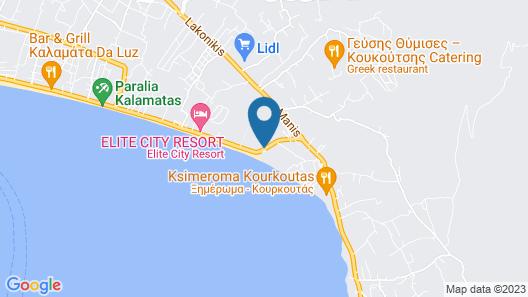 Filoxenia Hotel Map
