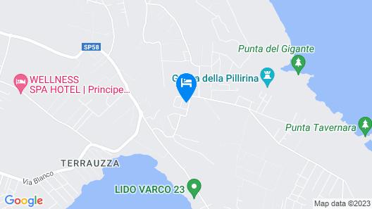 Borgo Marino Plemmirio Map