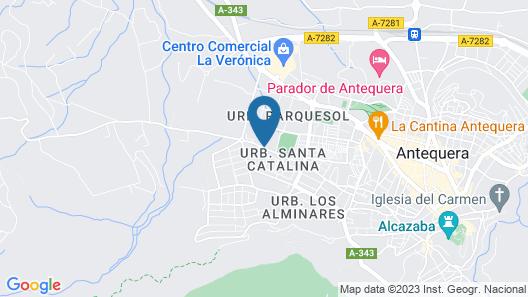 Checkin Antequera Map