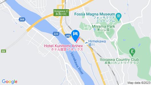 Hotel Kunitomi Annex Map