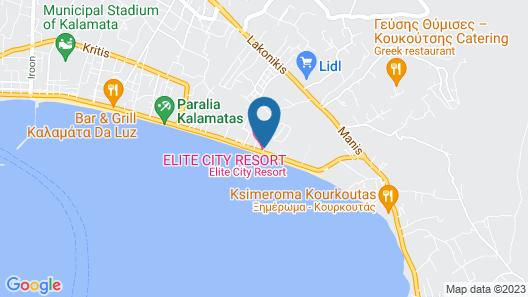 Elite City Resort Map