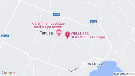 Charme Hotel Villa Principe di Fitalia Map