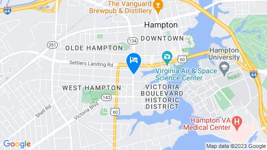 The Magnolia House Inn  Map