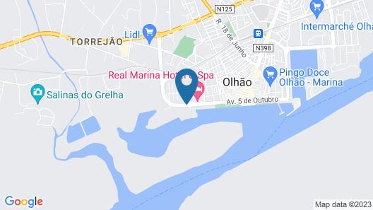 Real Marina Residence Map