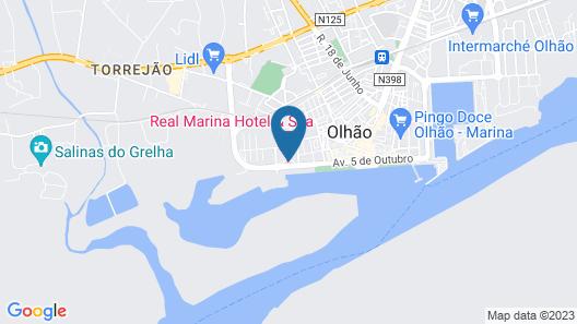 Real Marina Hotel & Spa Map
