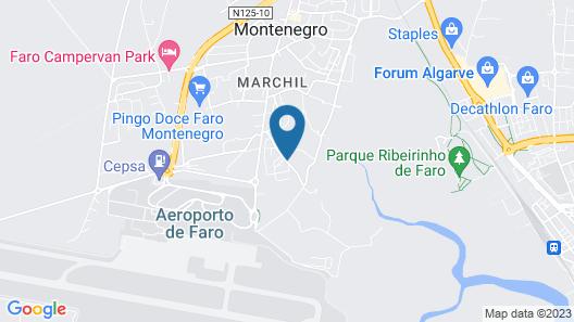 Sleep & Go Faro Airport Guest House Map