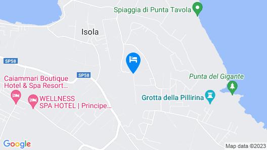 Resort Villa Isola 21 Map