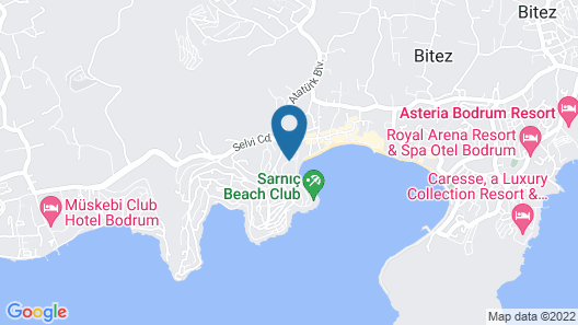 Costa 3S Beach Map