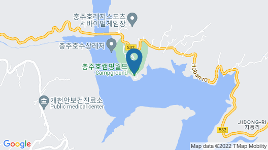 Chungjuho Camping World Map