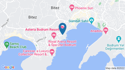 Kaya Palazzo Resort & Residences Le Chic Bodrum Map