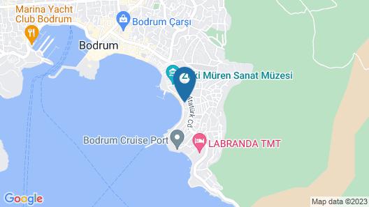 Diamond Of Bodrum Map
