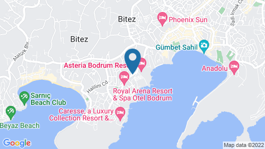 Smart Holiday Hotel Bodrum Map